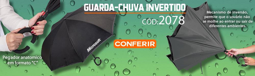 Guarda-chuva Invertido Personalizado 2078