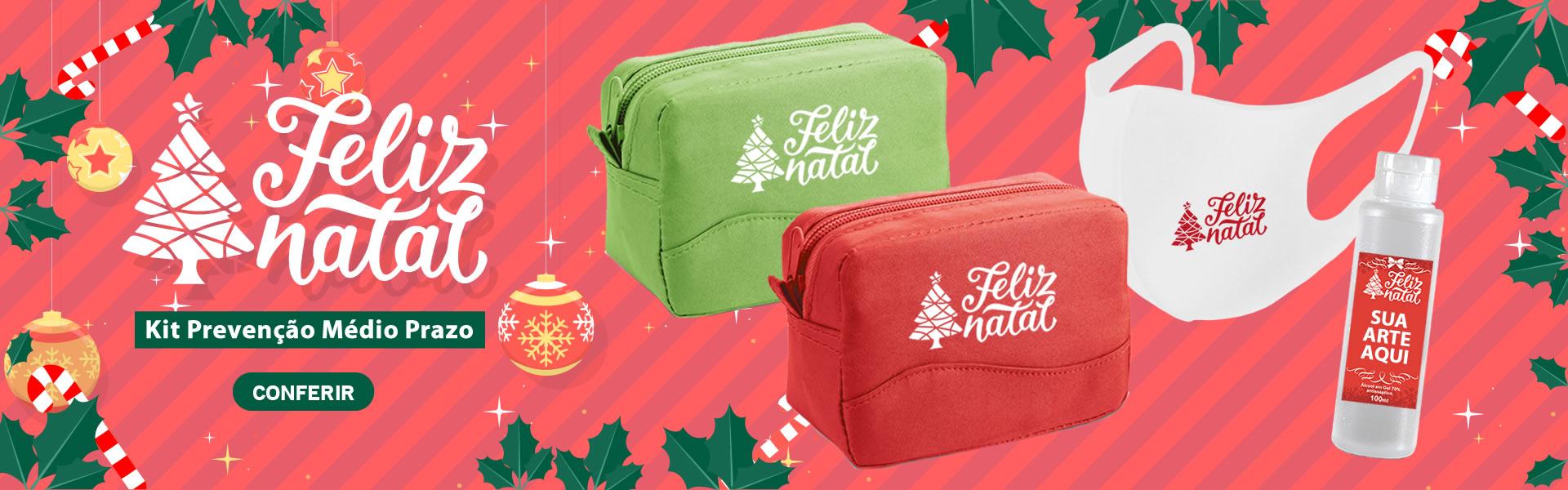Kit Prevenção Personalizado Natal 2020