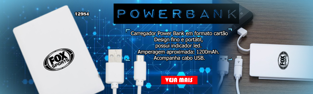 Powerbank Cartao