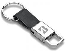 Chaveiro Couro e Metal 93363 Personalizado
