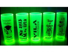 Copo Long Drink Neon 300ml Personalizado