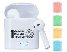 Fone Bluetooth Com Case Carregador 14199 Personalizado