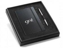 Kit Bloco de Anotações Caderno e Caneta 93499 Personalizado