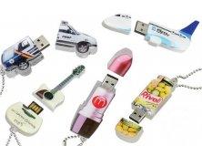 Pen Drive Acrílico Customizado Promocional
